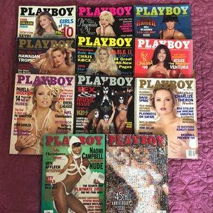 🐰 PLAYBOY Magazines 1999 LOT KISS PAMELA NAOMI